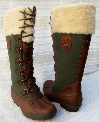 army green ugg boots