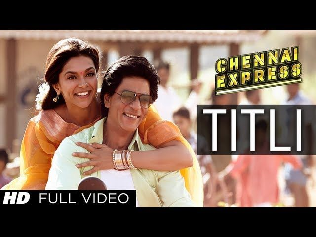 Titli from #Chennai Express starring #Deepika Padukone #Shahrukh Khan