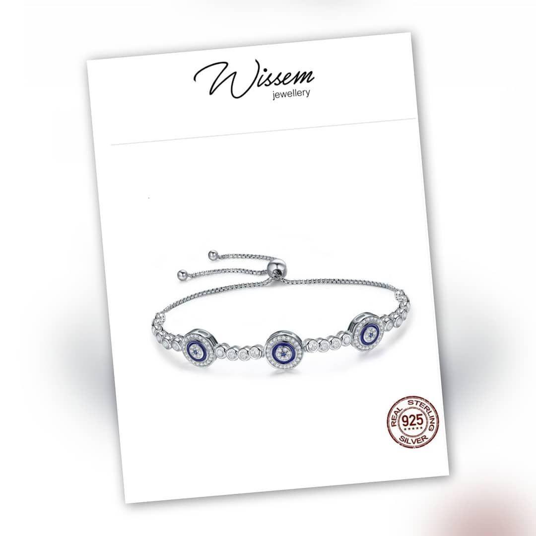 Preciosa pulsera elegante en plata de ley 925. ♥️😍