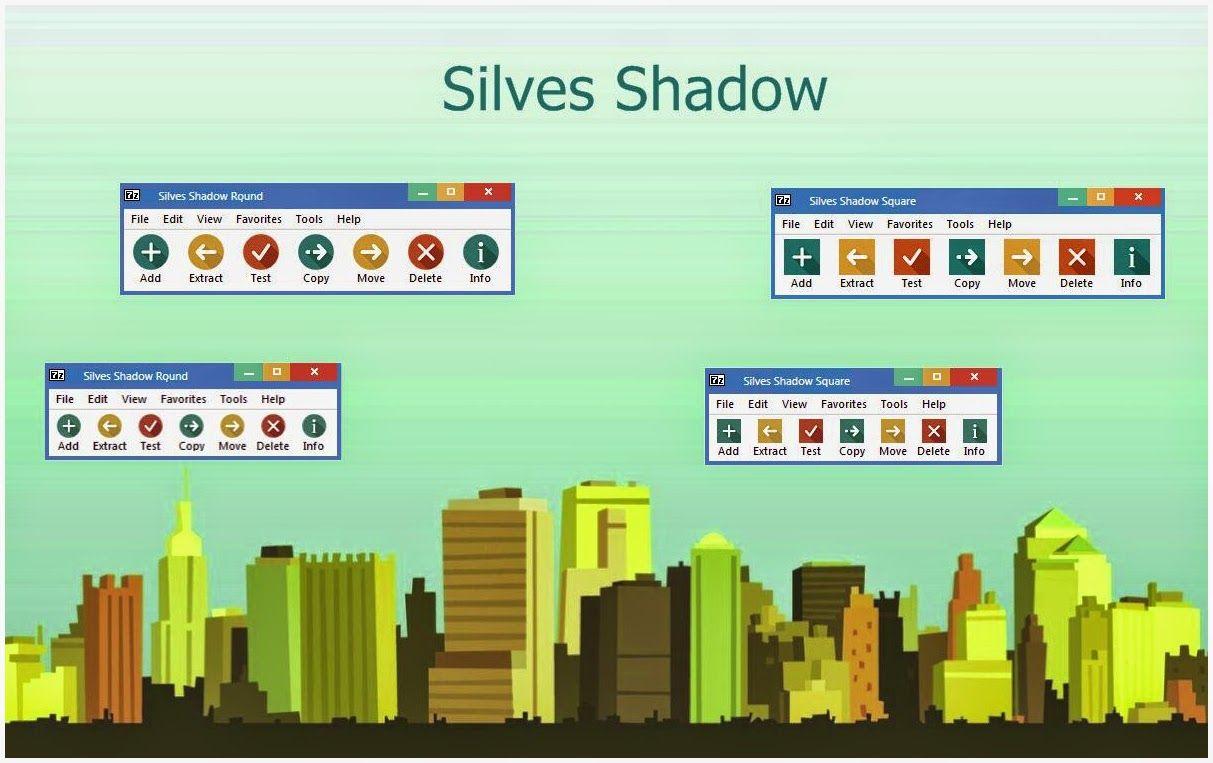 Silves Shadow 7 Zip Theme Cleodesktop Http Www Cleodesktop