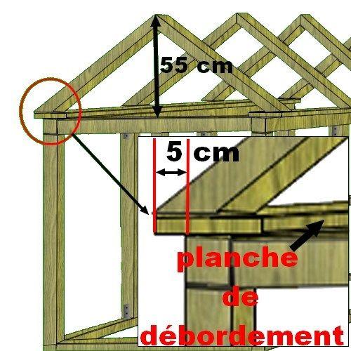 plan de montage de la toiture du poulailler construction. Black Bedroom Furniture Sets. Home Design Ideas