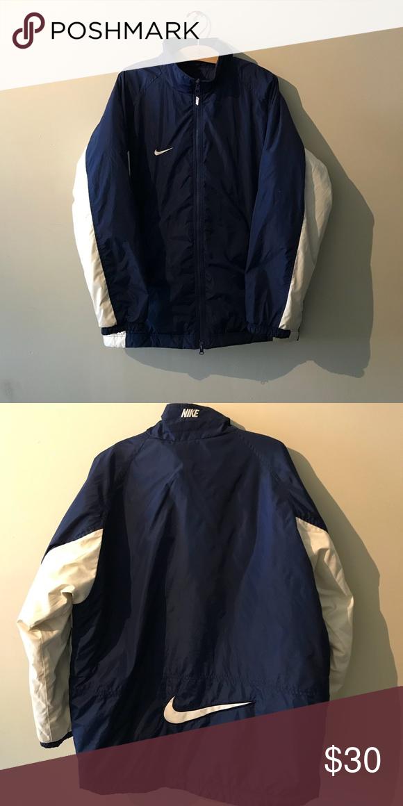 fcd3c6262 Super cozy vintage Nike jacket. #tommyhilfiger #poloralphlauren #vintage # retro #fashion #thriftstorefinds #depop #nike ##90sfashion #hypebeast  #adidas ...