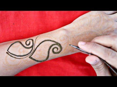 Latest Arabic Mehndi Design For Back Hand | Simple Easy Full Hand Mehndi Design |आसान मेहंदी डिज़ाइन