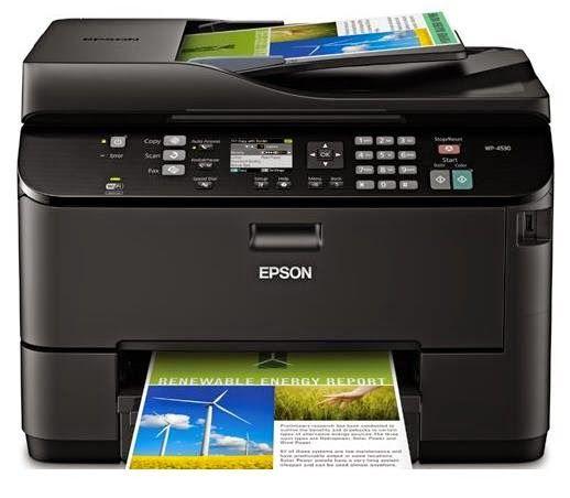 Epson Workforce Pro Wp 4530 Driver Download Wireless Printer