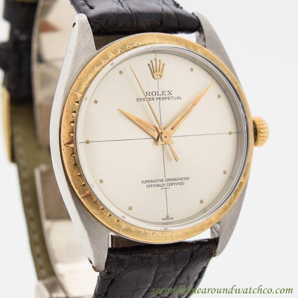 1962 Vintage Rolex Zephyr Ref. 1008 Stainless Steel Watch