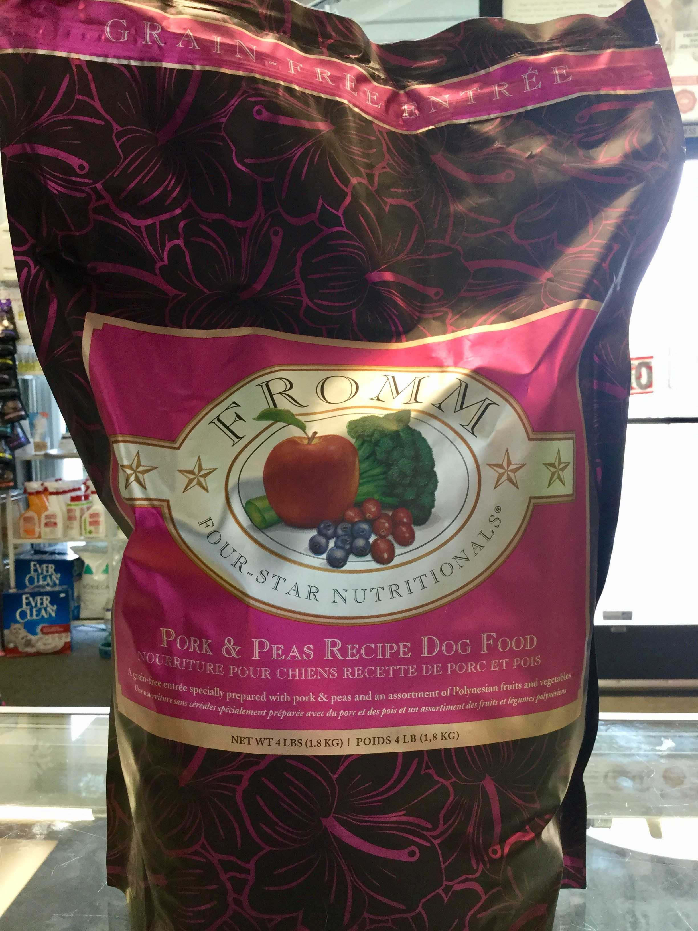 Item of the Day! Pork & Peas Dog food from Fromm Family