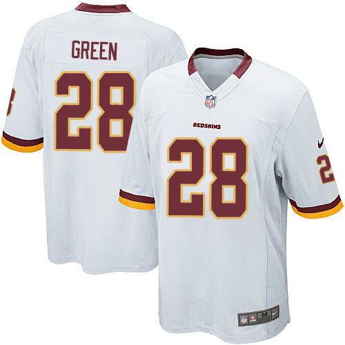 Youth Nike Washington Redskins  28 Darrell Green Limited White NFL ... 36b982eb9