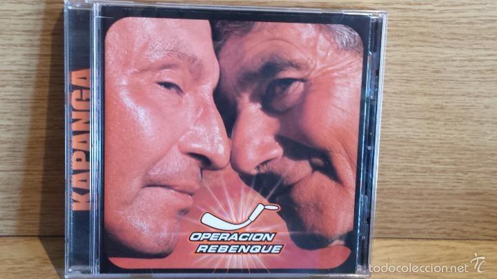 KAPANGA. OPERACION REBENQUE. CD/EMI - ARGENTINA 19 TEMAS /CALIDAD LUJO.