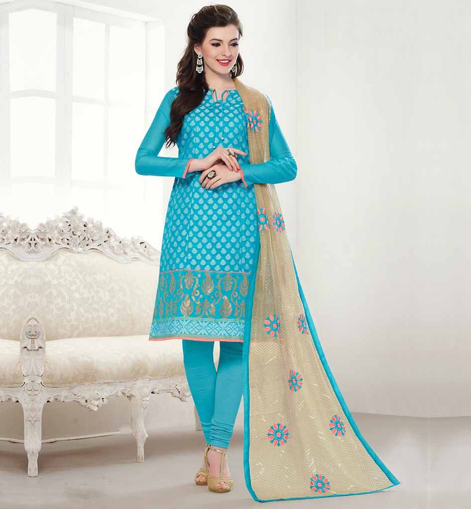 SIMPLE SALWAR KAMEEZ DRESS PATTERNS FOR GIRLS SMART COLOR