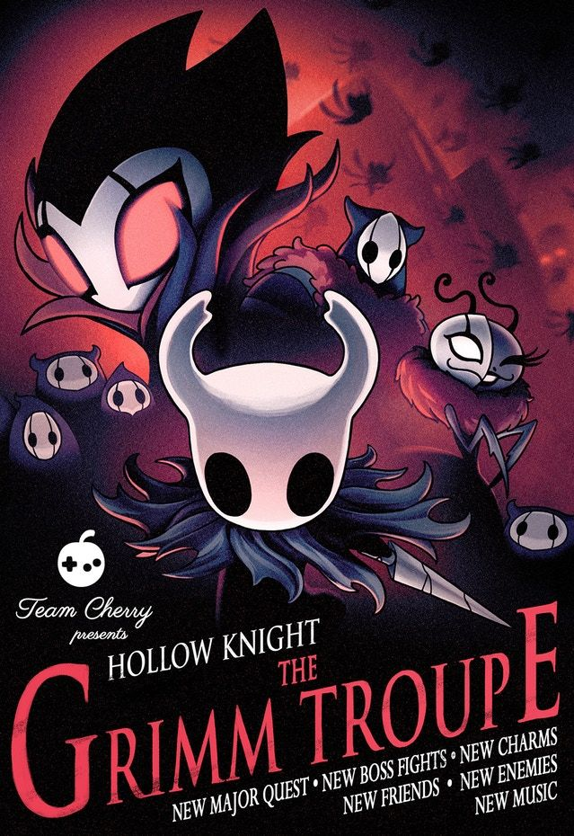 Hollow Knight poster room decor