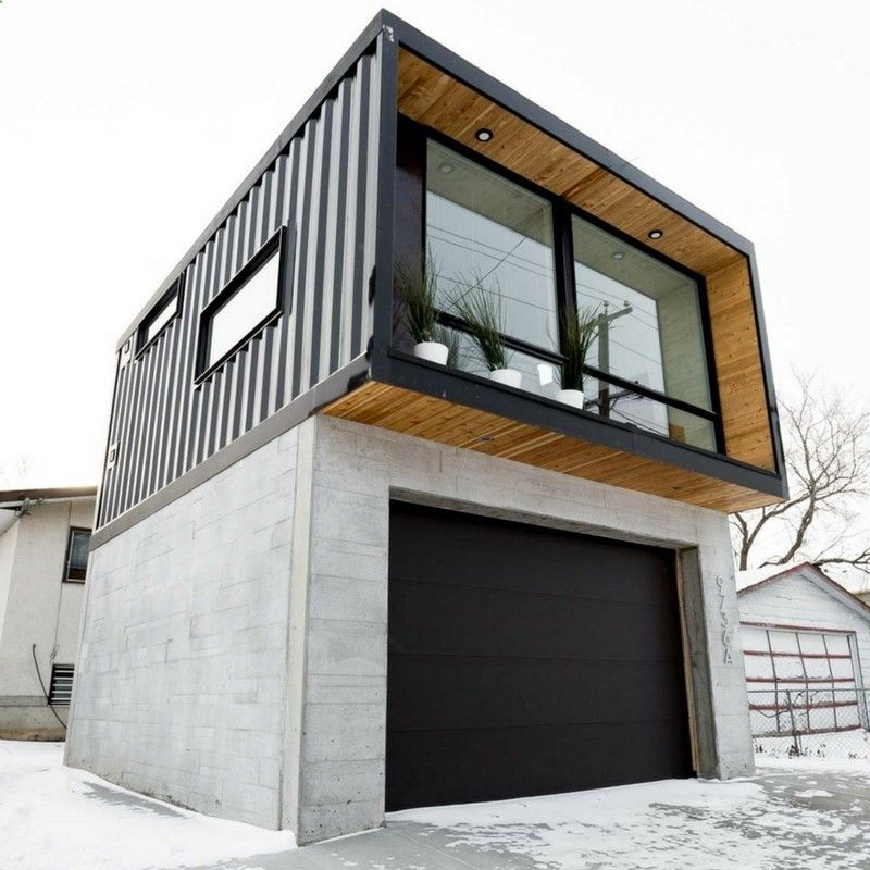 Simple Shipping Container Homes: HO2 TINY SHIPPING
