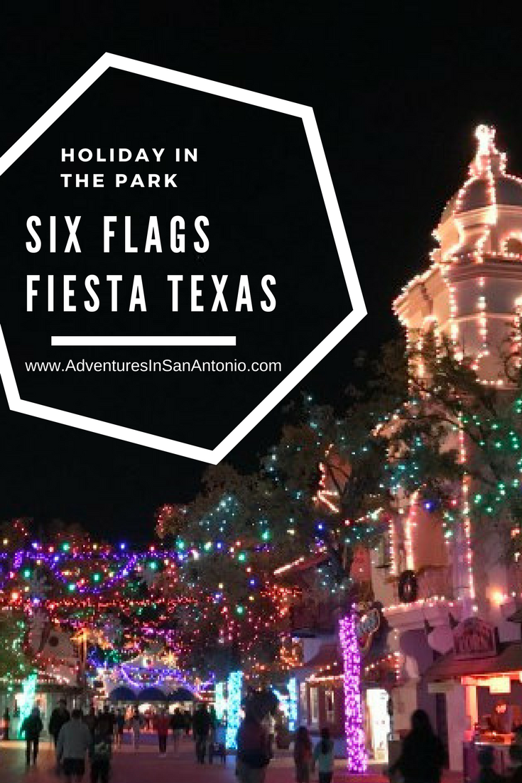 Six Flags Fiesta Texas Holiday In The Park Christmas Adventures In San Antonio Six Flags Fiesta Texas Texas Vacation Spots Christmas Destinations