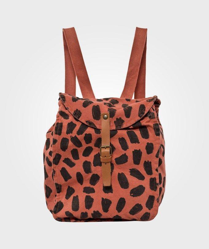 Bobo choses - 500kr Schoolbag Leopard Red
