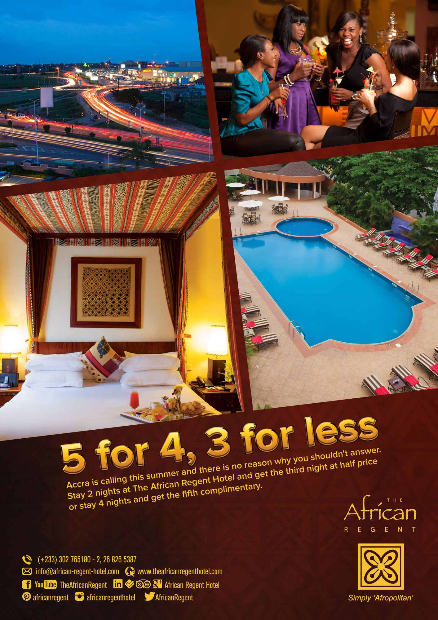 Accra Is Calling And The Destination African Regent Hotel