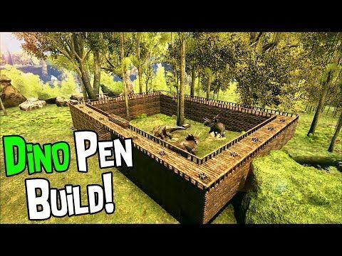 ark survival evolved dinosaur  build youtube