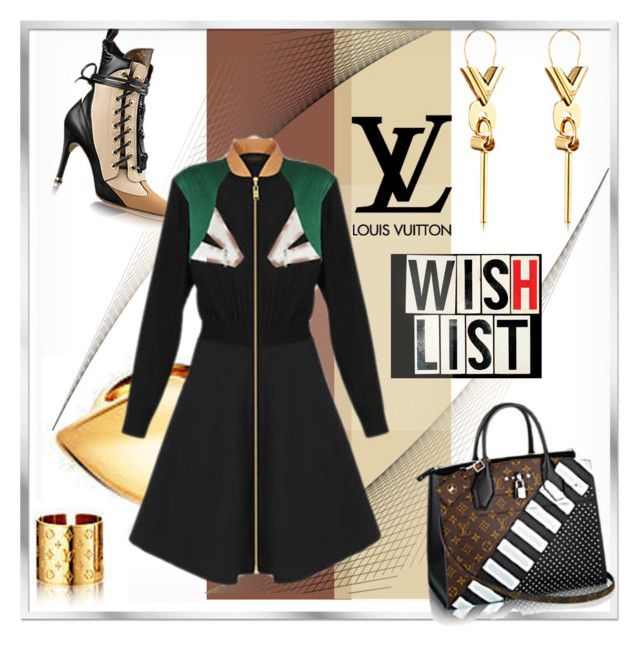 """""""Pack and Go!"""" by fl4u ❤ liked on Polyvore featuring LIST, Louis Vuitton and riodejaneiro"""