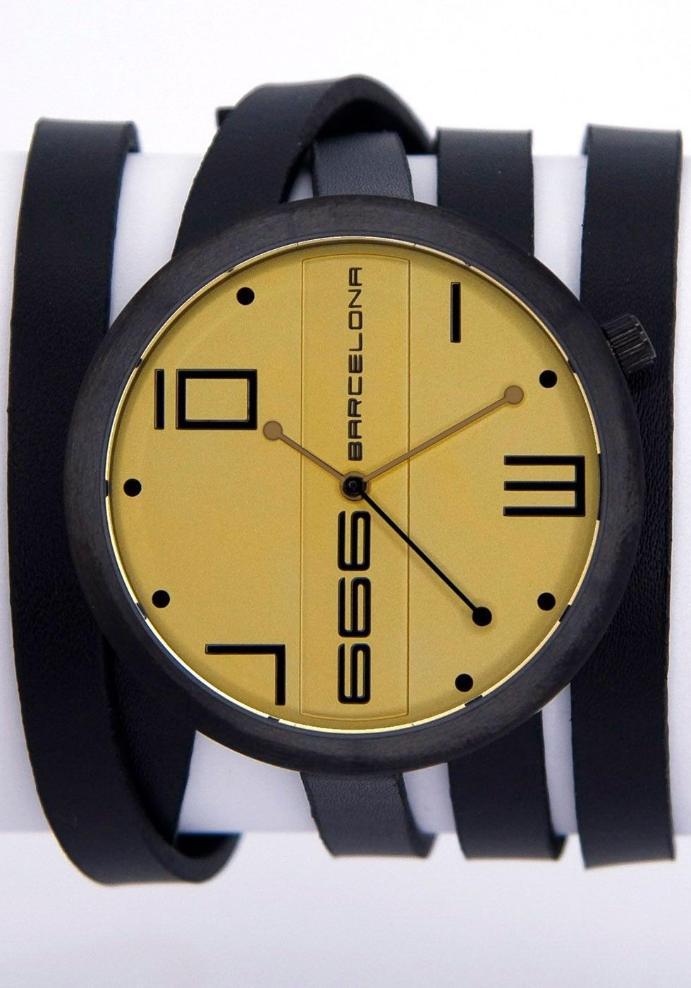 032f4b28d7d0 666 Barcelona Champagne Watch 666-175 The