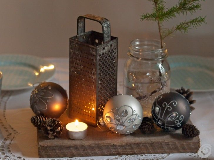 Decorare la tavola a natale con un oggetto vintage decorazioni a tavola pinterest dressing - Decorare la tavola a natale ...