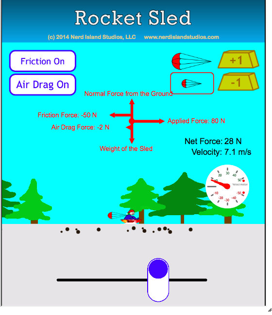 This interactive physics simulation allows learners to ...