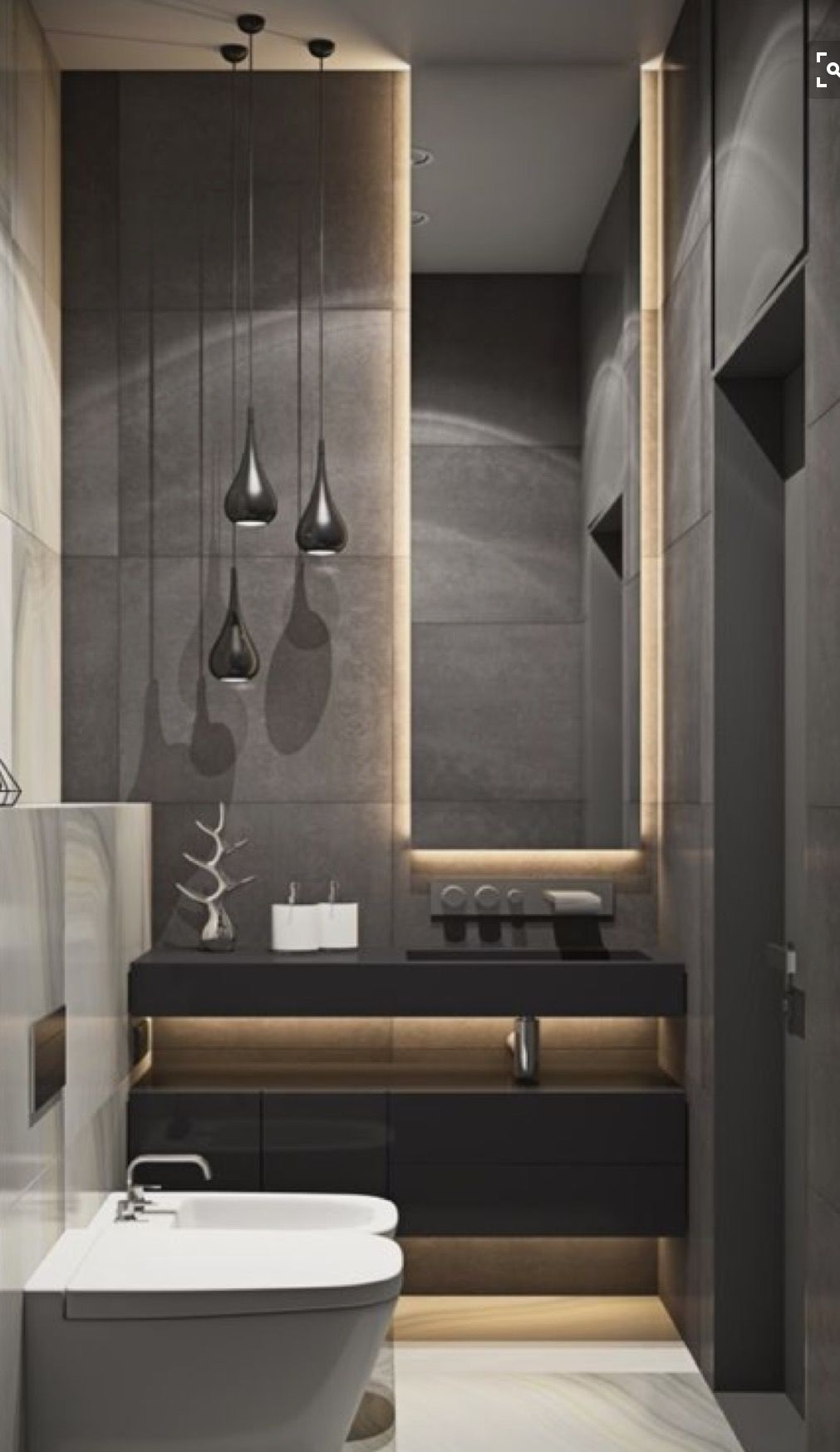 toilette sdb pinterest badezimmer bad und baden. Black Bedroom Furniture Sets. Home Design Ideas