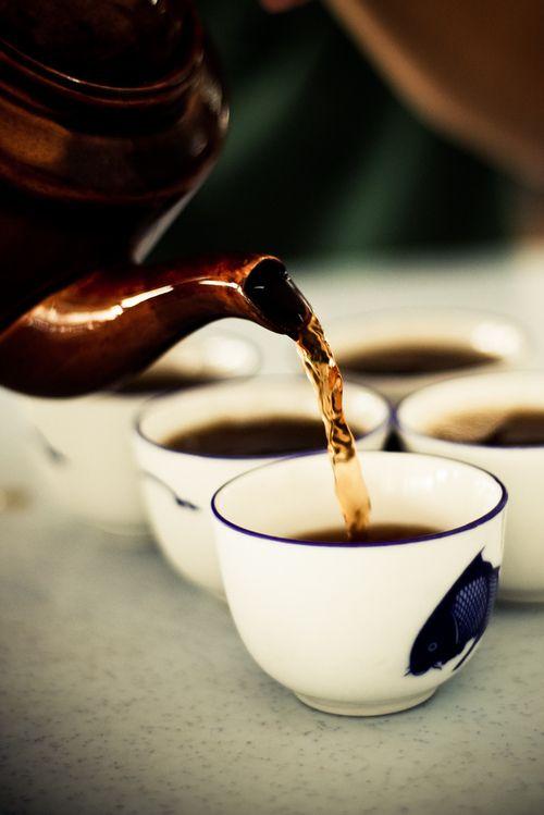 .Tomar chá.