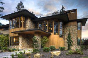 Modern prairie style home by Washington State designer with big ...
