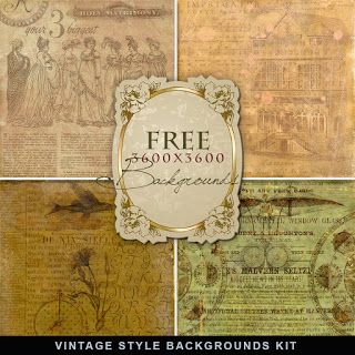 Freebies Vintage Style Backgrounds