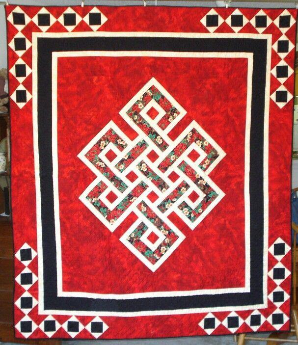 Quot Knot Christmas Quot Gordian Knot Celtic Quilt Quilt
