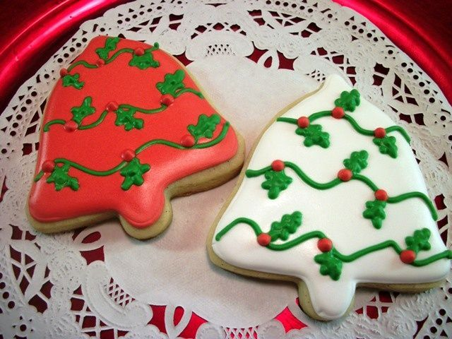 Images Of Decorated Bell Cookies Christmas Bell Cookies