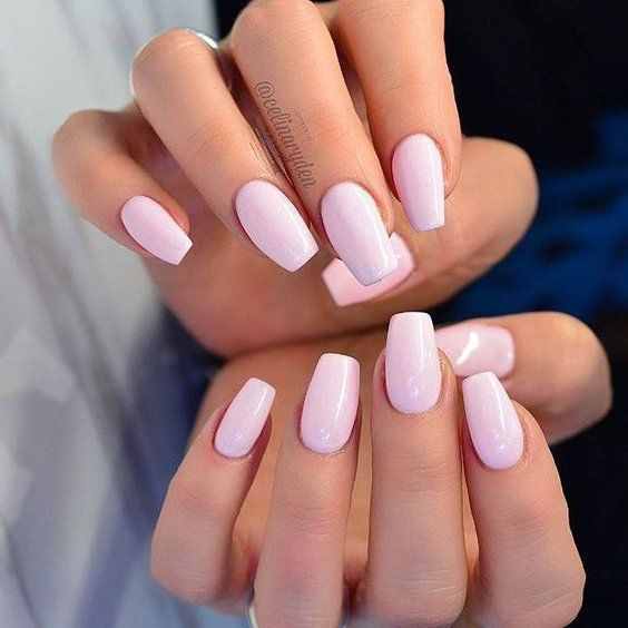 30 Most Gorgeous Light Pink Nails Idea for Prom and Wedding in Fall and Winter 💋 – Page 2 of 31   – Trendy Nails – #Fall #gorgeous #Idea #light #Na…