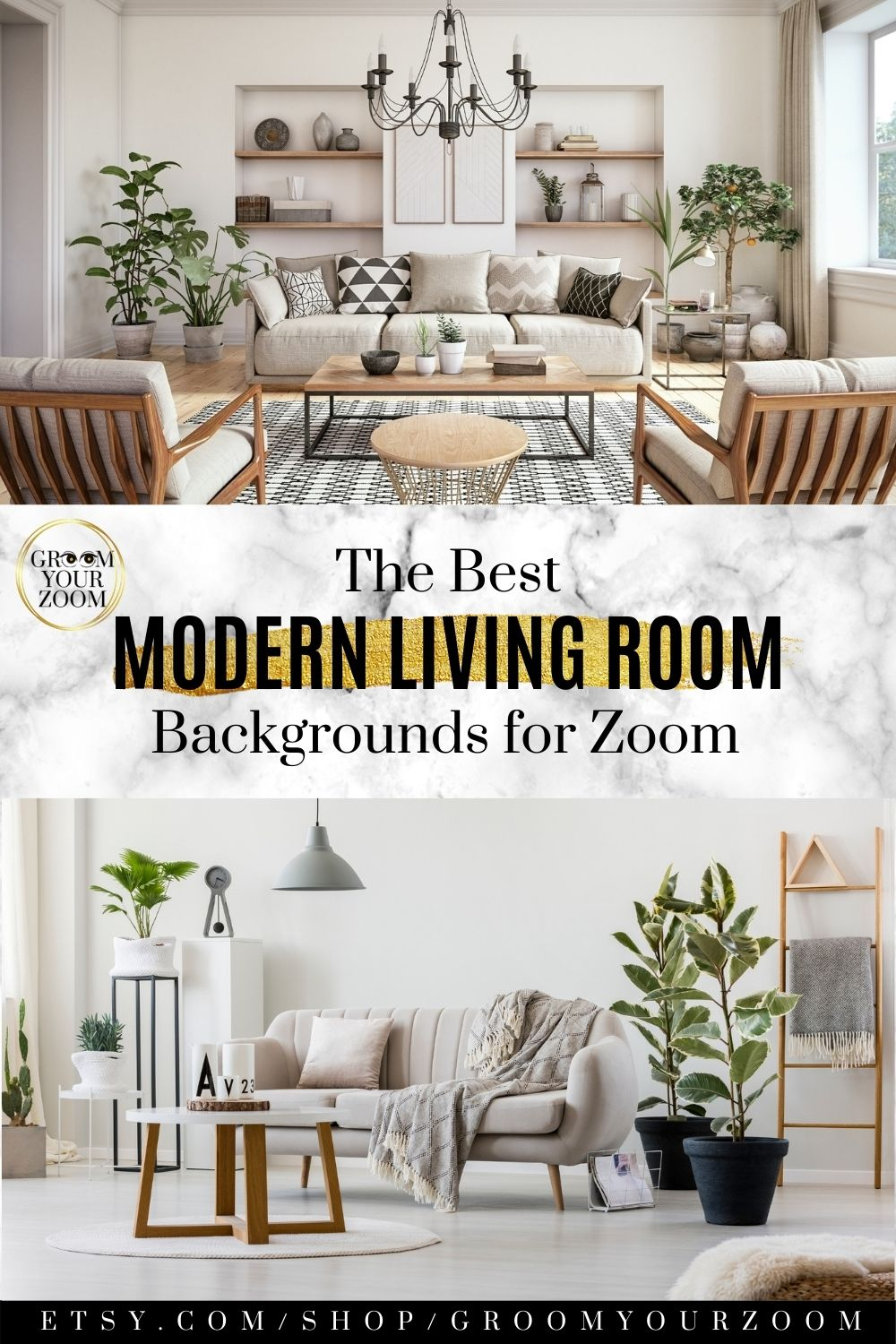 Neutral I Living Room Zoom Background 4 Virtual Backgrounds For Video Call Home Living Stock Photo Digital Download Living Room Background Living Room Modern Modern Living Room