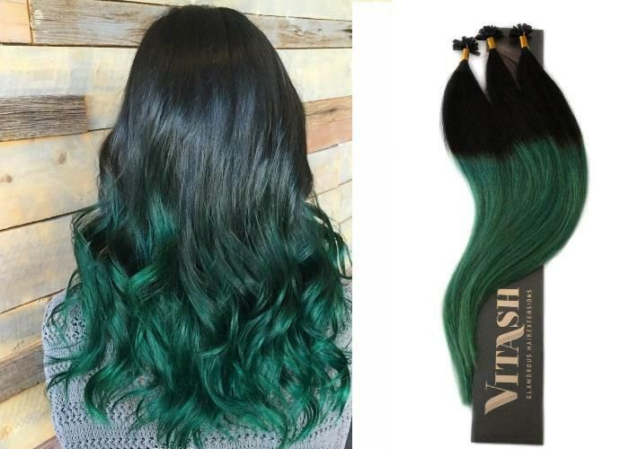 OMBRE REMY ECHTHAAR EXTENSIONS HAARVERL?NGERUNG KERATIN BONDING 55cm, 1g, 100 #EXTENSIONS#HAARVERL#ECHTHAAR #humanhairextensions