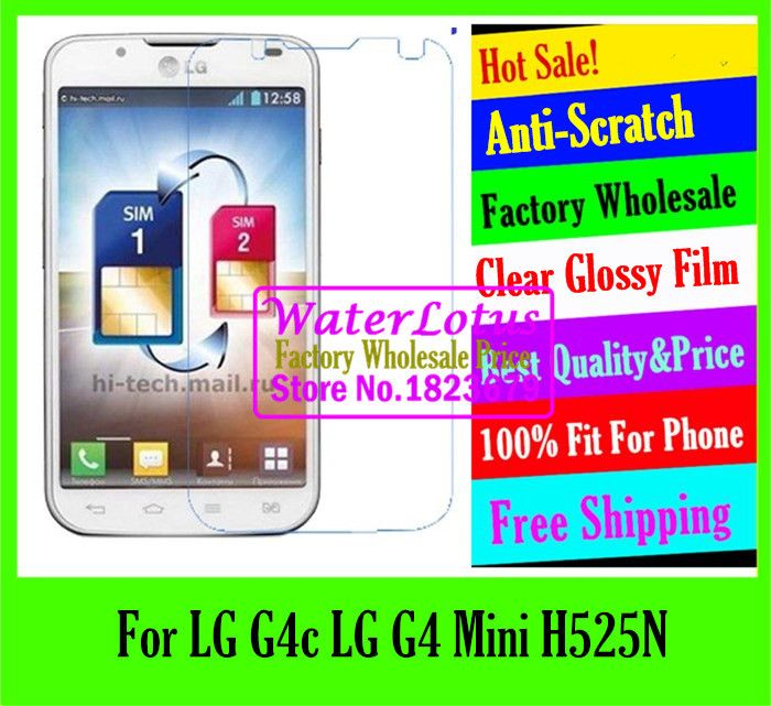 >> Click to Buy << Clear Glossy mobile protective film to phone screen protector de pantalla projector LCD film case For LG G4c LG G4 Mini H525N #Affiliate