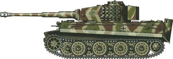 Tiger I Normandie, June 1944.