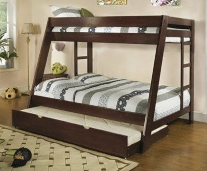 Pin De Vannia Cruz En Habitaciónes Pinterest Full Bunk Beds
