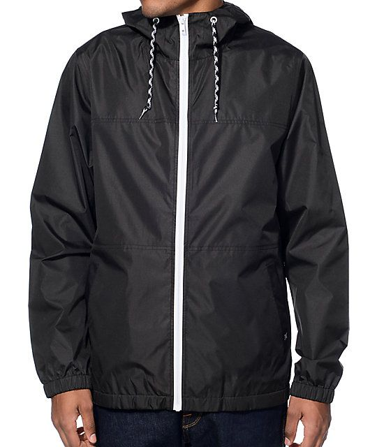 Zine Marathon Windbreaker Jacket | Windbreaker jacket, Windbreaker ...