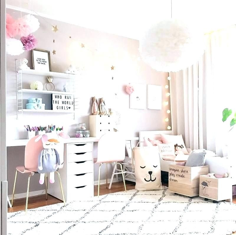 Best Interior Grey Girls Room Interior Designing Home Ideas Pink And Grey Girls Room Grey Girls Bedroom Girl Room Inspiration Shared Girls Room Cool Room Decor