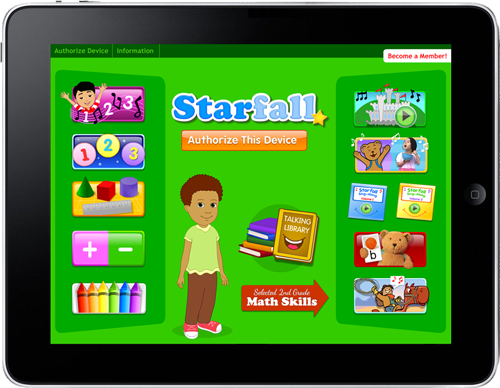 What are some fun Starfall math games for third graders?
