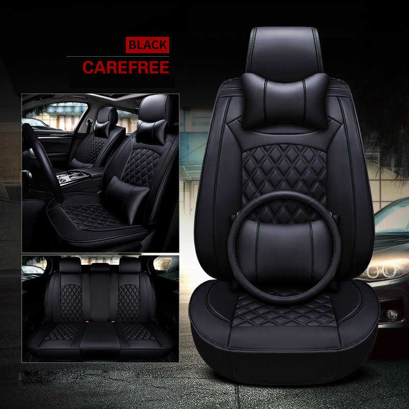 Wholesale New Model Luxury Leather Car Seat Cover For Full Set Well Fit 5 Seats Sedan Suv Seat Cushion With Leather Car Seat Covers Leather Car Seats Car Seats