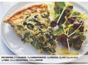 WHITE HOUSE SPINACH PIE - Contra Costa Times