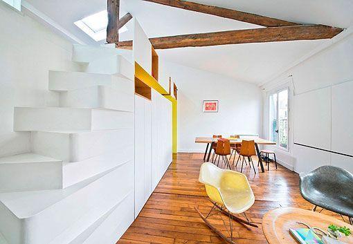 Apartamento de estilo contemporáneo