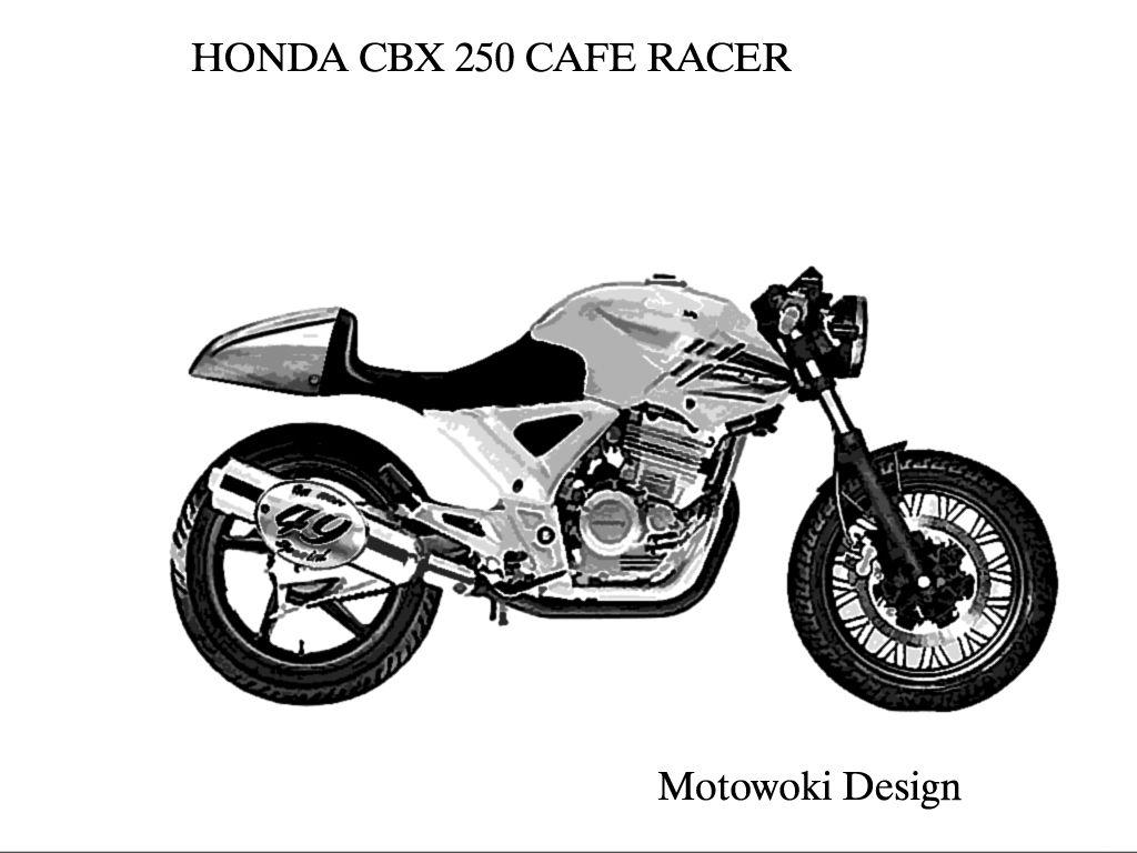 resultado de imagem para cbx 250 twister cafe racer proyectos