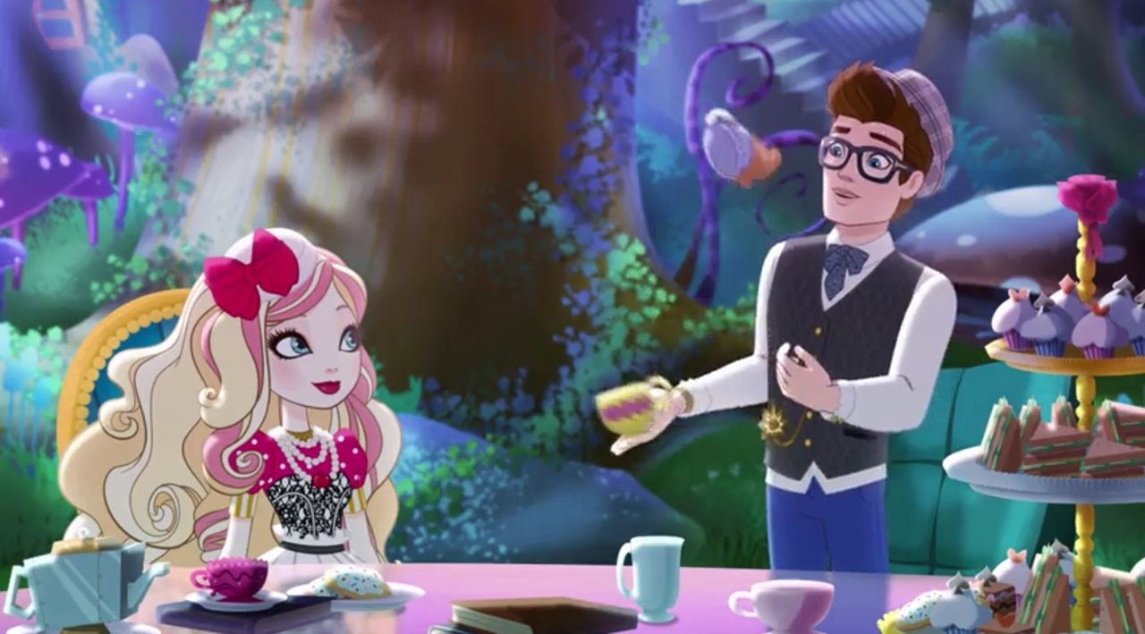 Ever After High Tea Party Ever after high, Ever after