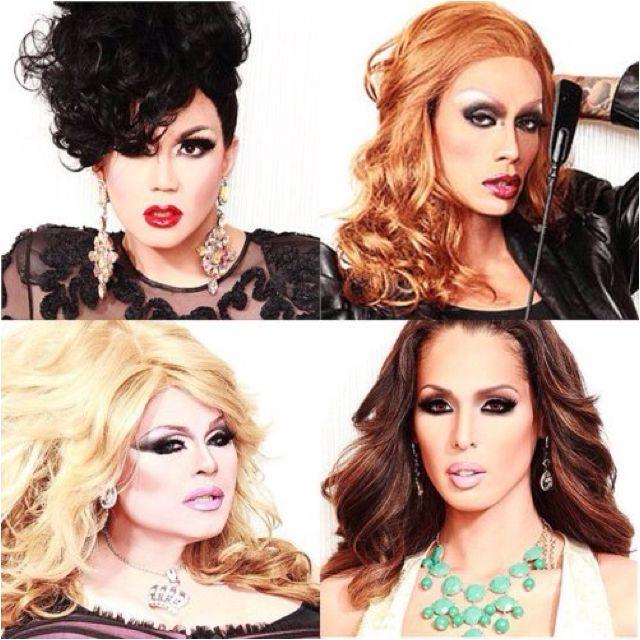 The Heathers.<3 Manila Luzon, Raja, Delta Work, & Carmen Carrera. My favorites :)