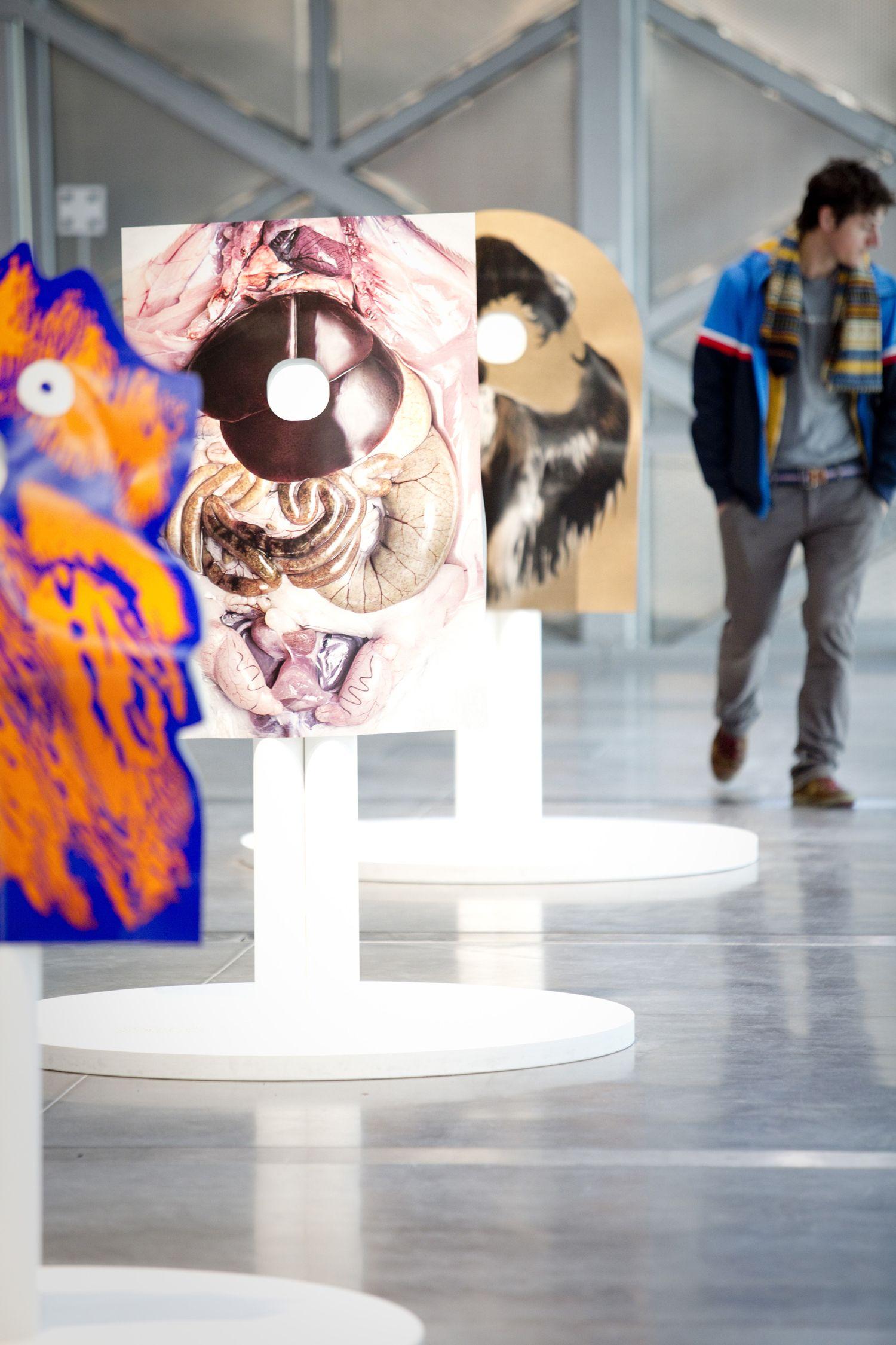 Expo Le bestiaire de Ionna Vautrin photo © Pierre Grasset