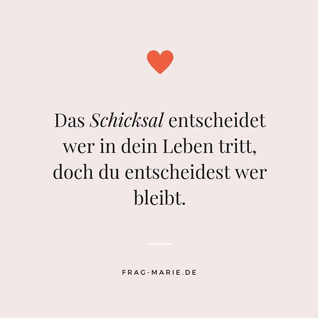 """Frag-Marie.de on Instagram: """"You can make a new decision every day ❤️"""" -  FragMarie 