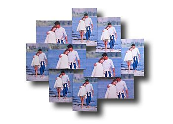 Melannco Acrylic Collage Picture Frame Melannco 10 Opening