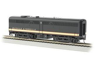 Bachmann HO Standard Line Alco FB2 Diesel Locomotive, with Sound, Louisville & Nashville