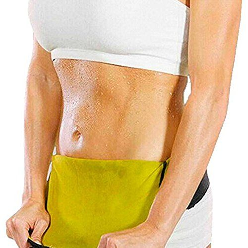861a9f15a59 YFMAYI Women s Hot Thermo Sweat Neoprene Shapers Slimming Belt Waist  Cincher Girdle for Weight Loss