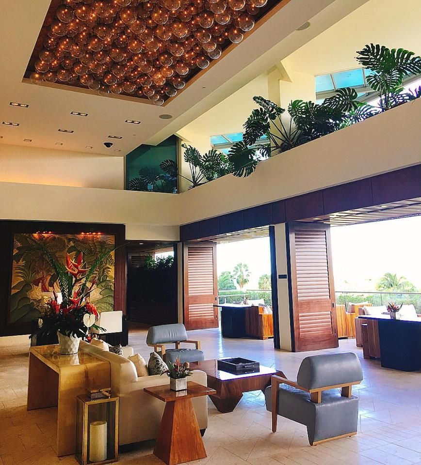 Kitchen Cabinets Honolulu: Our 6th Floor Lobby Evokes A Sense Of Place, With Features